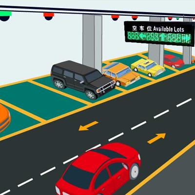 视频车位引导找车系统