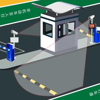 车牌识别系统(无线版)
