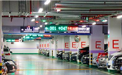 视频车位引导系统